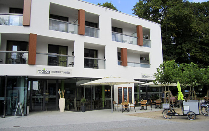 Hot Hotel Radlon in Waren